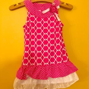 Other - Cute Pink Summer shirt . Girls size 5